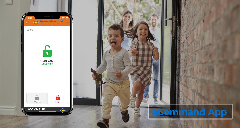 aCommand app header